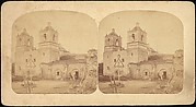 [Group of 4 Stereograph Views of California Missions]
