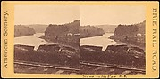 [Group of 5 Stereograph Views of Canals]