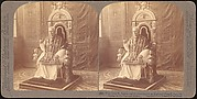 [Group of 12 Stereograph Views of Celebrities, Including Popes and Presidents]