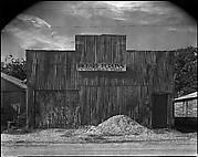 [Corrugated Tin Façade of Contractor's Office, Moundville, Alabama]