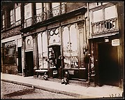 "Shop front of ""Courone d'or,"" Quai Bourbon"