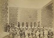 Exécution des otages, prison de la Roquette, le 24 mai 1871
