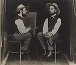 [Henri de Toulouse-Lautrec as Artist and Model]