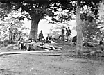 Wounded soldiers at Fredericksburg