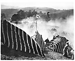 [Film Set of an Arab Encampment in Battle]