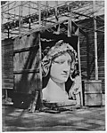 [The Colossal Head of Bavaria in the Nave of the Crystal Palace]