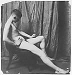 [Male Nude, Possibly Bill Duckett, at the Art Students' League of Philadelphia]