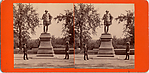 [24 Stereographic Views of Shakespeare Statue, Central Park, New York]