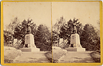 [7 Stereographic Views of Soldier's Monument, Central Park, New York]