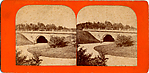 [13 Stereographic Views of Granite Arch, Central Park, New York]