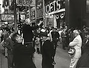 Street Speaker, 42nd Street, New York City