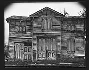 [Dilapidated Italianate Revival Farmhouse]