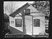 [Folk Victorian Cottage at Ossining Camp Woods, New York]