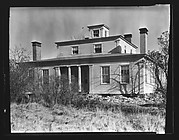 [Greek Revival House with Recessed Entry Porch, New York]