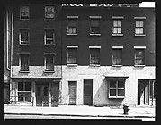 [Brick Buildings on Waterfront, James Slip, New York City]
