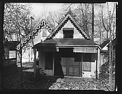 [Folk Victorian Cottages at Ossining Camp Woods, New York]