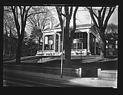 [Greek Revival Building with Ionic Capitals, Public Library, Somerville, Massachusetts]