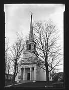 [Church with Ionic Capitals in Belltower]