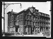 [Row of Brownstone Houses on Columbia Heights, Brooklyn, New York]