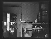 [Kitchen Interior Showing Stove with View Into Pantry]