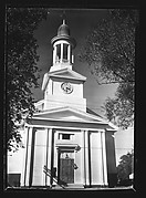 [Church with Paired, Recessed Doric Columns]