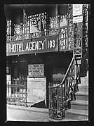 [Bismarck Hotel Agency Façade Detail, New York City]