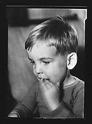 [Unidentified Boy with Hand in Mouth]