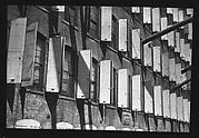 [Shuttered Windows of Shoe Factory, Lynn, Massachusetts]