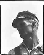 [Floyd Burroughs (Left Profile), Hale County, Alabama]