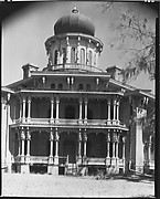 [Central Façade of Longwood Plantation House, Near Natchez, Mississippi]
