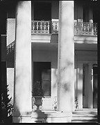 [Detail of Columns and Balconies of Melrose Plantation House, Natchez, Mississippi]