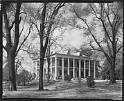 """[""""Donleith,"""" A Greek Revival House with Ionic Capitals, Natchez, Mississippi]"""