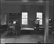 [Church Interior with Pump Organ, Alabama]