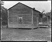 [Side View of Bud Fields's House, Hale County, Alabama]