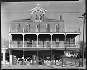 "[Three Story Brick Building ""McINERNEY'S"" with Grocery Store on Ground Floor, Vicksburg, Mississippi]"