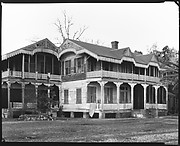 [Folk Victorian House, Family Summer Residence of Christine Fairchild, Waveland, Mississippi]