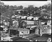 [Wooden Houses, From Elevated Position, Vicksburg, Mississippi]