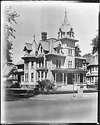 [House with Mansard Roof, Bridgeport, Connecticut]