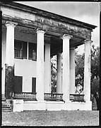 [Façade Detail of Greenwood Plantation, Louisiana]