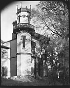 [Corner Turret of Afton Villa Plantation, Bains, Louisiana]