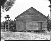 [Wooden Schoolhouse with Separate Belltower, Alabama]