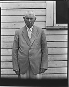 [Man in Suit Jacket and Seersucker Pants, Moundville, Alabama]
