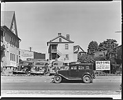 [Used Car Lot and Surrounding Houses, Fairfield Avenue and Andover Street, Bridgeport, Connecticut]