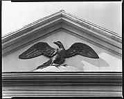 [Gilded Pediment Eagle, Charleston, South Carolina]