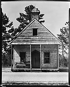 [Wooden Church, Near Beaufort, South Carolina]