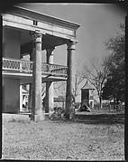 [Corner of Uncle Sam Plantation House and Garconniere, St. James Parish, Louisiana]
