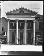 """[Greek Revival Building (""""Three Sisters"""" Apartment House), New Orleans, Louisiana]"""