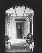 [Sitting Room Interior, Through Doorway, Residence of Gifford Cochran, Croton Falls, New York]
