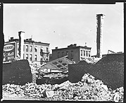[York Garage Demolition Site, East 92nd Street, New York City]