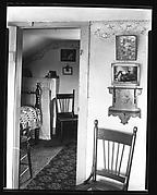 [Bedroom Interior Seen through Doorway, Near Copake, New York]